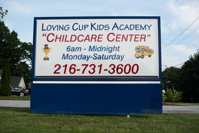 Loving Cup Kids Academy monument signs | Blinksigns