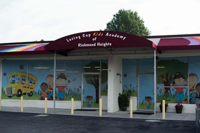 Loving Cup Kids Academy Commercial Awnings | Blinksigns