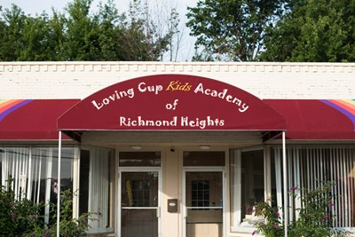 Loving Cup Kids Academy commercial awnings (main) | Blinksigns