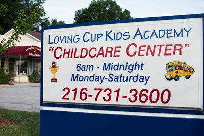 Monument Signs of Loving Cup Kids Academy | Blinksigns