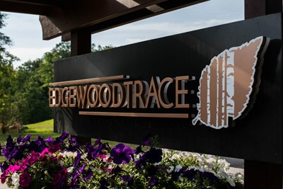 Edgewood Trace monument signs 1 | Blinksigns