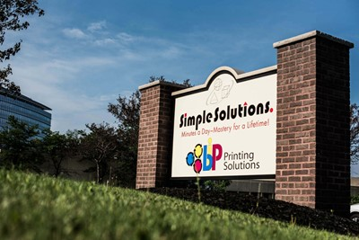 Simple Solution monument signs | Blinksigns