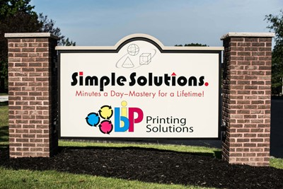 Simple Solution Using Monument Signs by Blinksigns