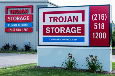Trojan Storage Monument Signs | Blinksigns
