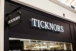 Ticknors channel letters, FCO's and Blade signs by BlinkSigns