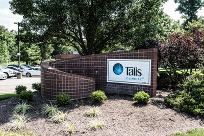 Talis Clinical using graphic signs