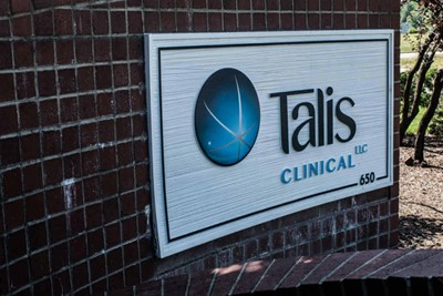 Talis Clinical using graphic signs by BlinkSigns