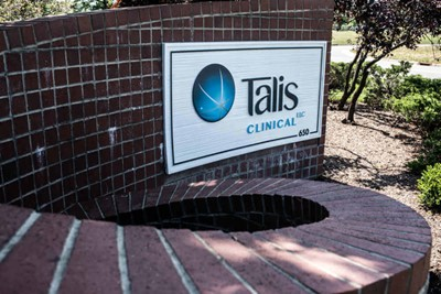 Wall signs used by Talis Clinical