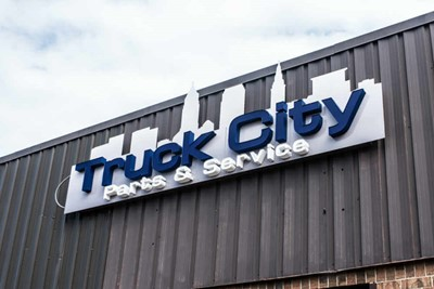 Truck City channel lettering | blinksigns