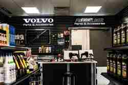 Volvo embedded LED signs