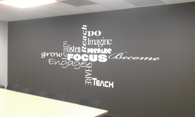 What Are Vinyl Office Wall Graphics? What Are Their Best Uses?