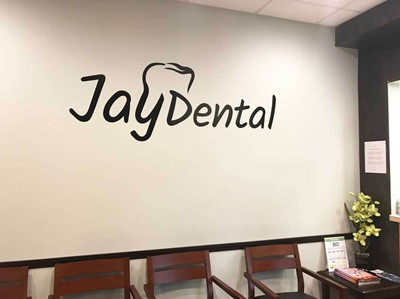 vinyl-jay dental sign by blinksigns