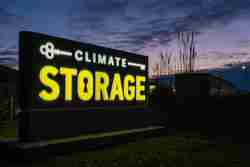 climate storage monument sign by blinksigns cleveland