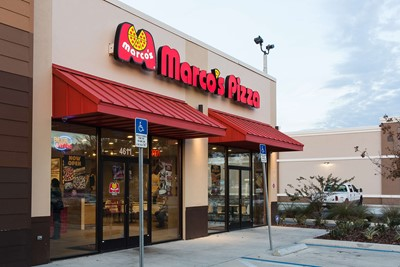 Marco's pizza uses BlinkSigns channel letters signage