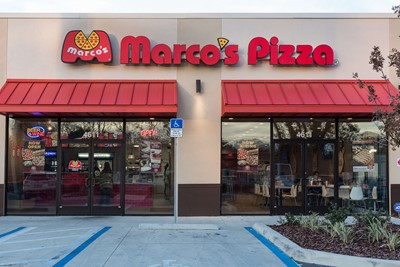 Marco's pizza goes for channel letters to display their business