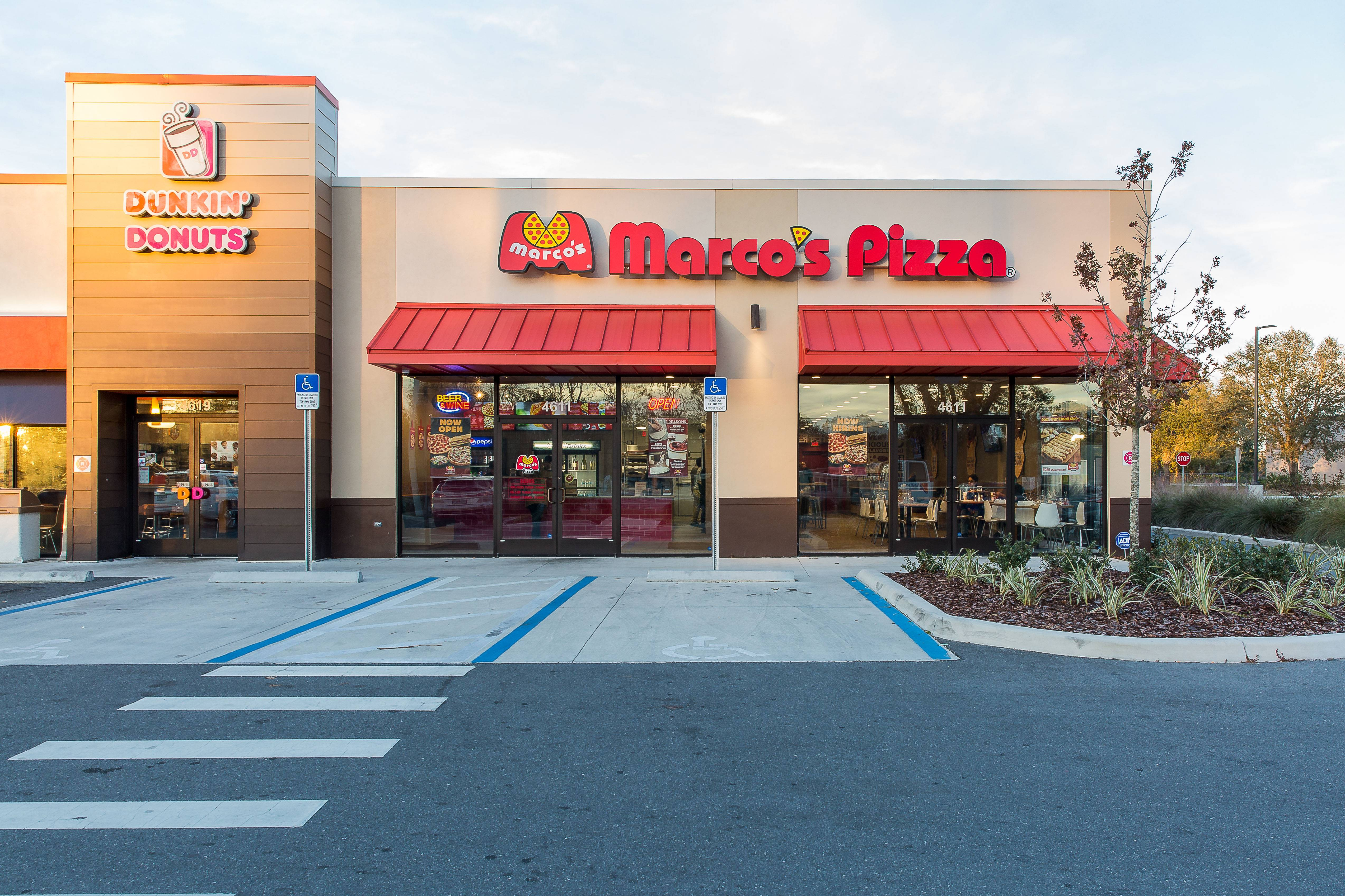 Marcos Pizza Monument Signs And Channel Letters Blink