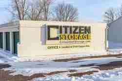 monument signs for Citizen storage company