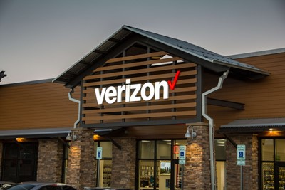 Verizon wireless business signs by blinksigns