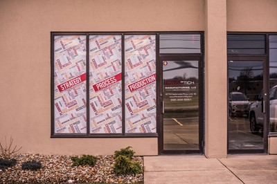 BlinkSigns interior signage with Window & Wall Graphics