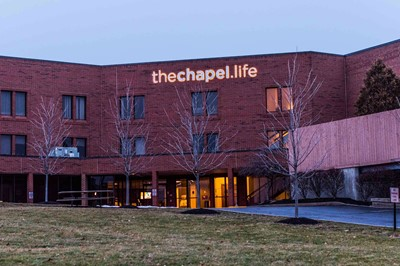 Channel letter for the Chapel.Life By Blink signs in Akron, OH