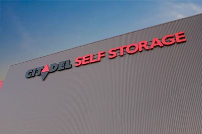 Channel letters for self-storage