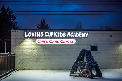 Channel letters by BlinkSigns for Loving Cup Kids Academy