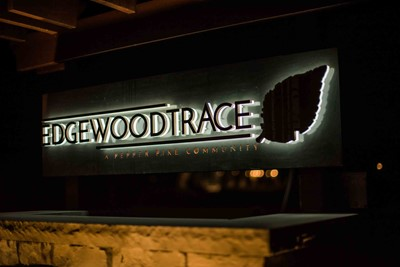 Embedded LED Signs of Edgewood Trace | Blinksigns