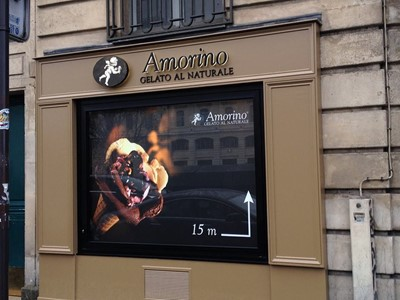 Amorino signs by blinksigns