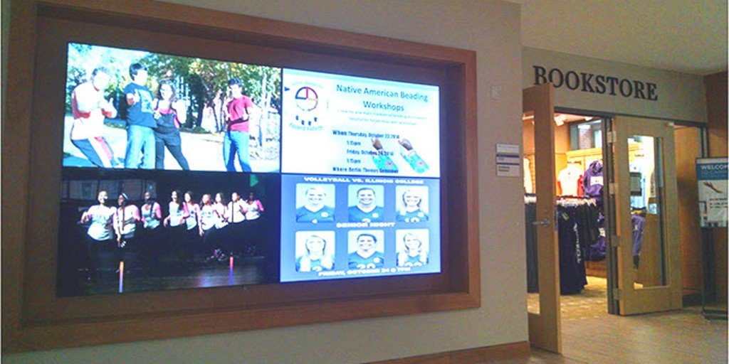 5 Ways to Go With Digital Signage On Campus