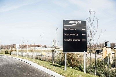 Directional & Wayfinding Sign of Amazon | Blinksigns