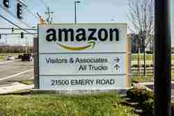 Amazon Monument Sign 1 by Blinksigns