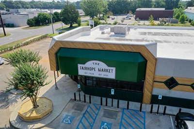 The FairHope Market Using Commercial Awning | Blinksigns