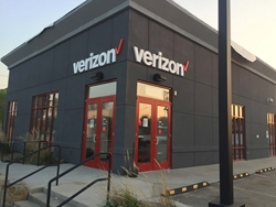 Verizon using channel letters | Blinksigns