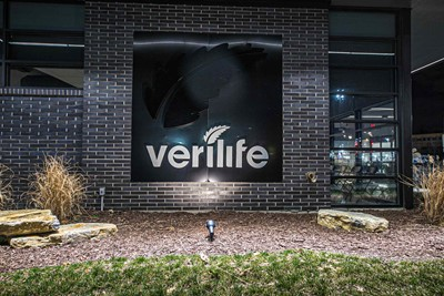 Verilife uses Non illuminated Channel letters Night View
