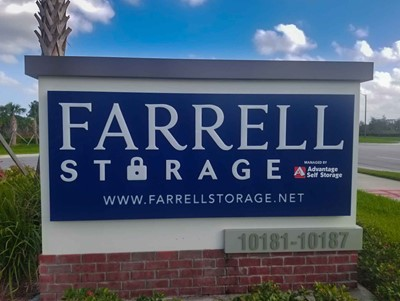 Farrell Storage Monument Signs