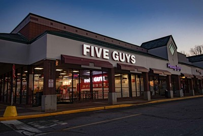 Five Guys Exterior Signs Channel Letters