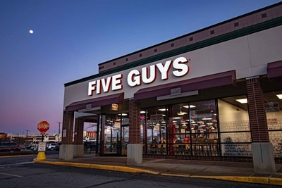 Five Guys Channel letter Exterior Signs - Restaurant Signs