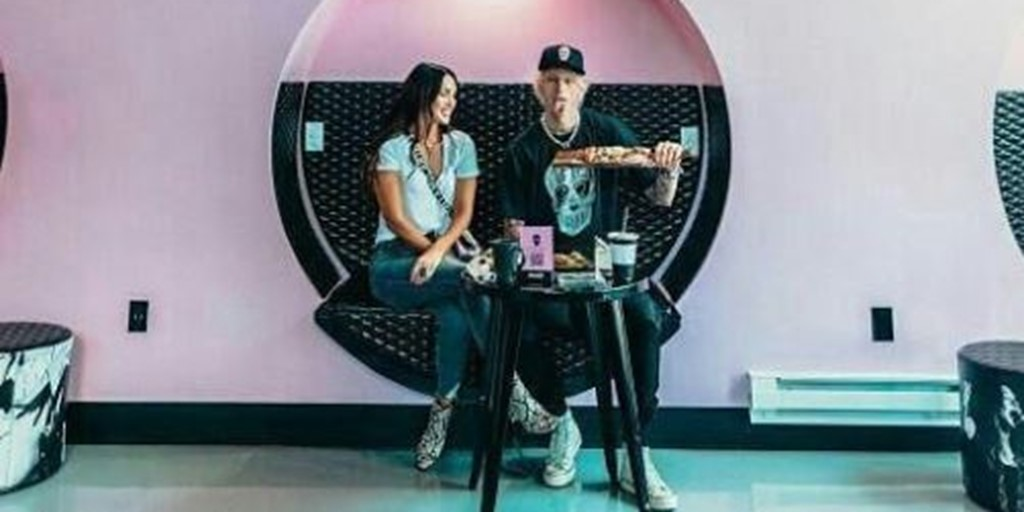 Machine Gun Kelly's Instagrammable Café in Cleveland, OH Decorated by BlinkSigns